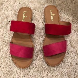 Never worn Lulu'a sandals